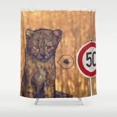 Not my rules Shower Curtain