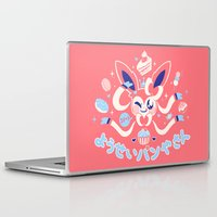 "sylveon Laptop & iPad Skins featuring ""Sweet"" Fairy Bakery by Miski"