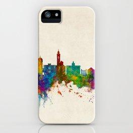 Lugano Switzerland Skyline iPhone Case