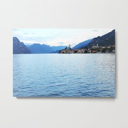 Lake Garda Sunset Metal Print