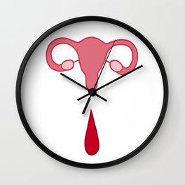Uteri, Period. Wall Clock