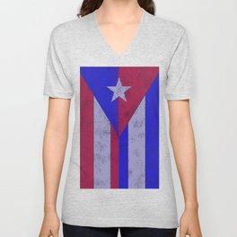 Cuba Rico Unisex V-Neck