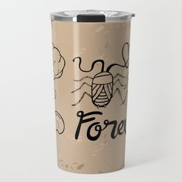 Die Hard Romantic Travel Mug