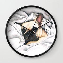 French Bulldog - F.I.P. - Miuda Frenchie Wall Clock