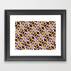 loopy pattern 2 Framed Art Print