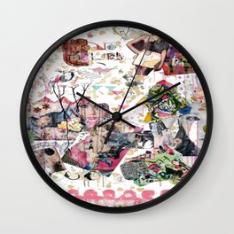 Moodboard Wall Clock