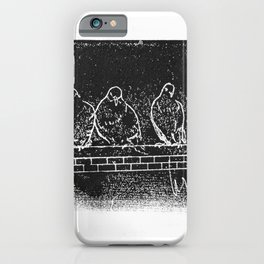 Philly Pigeons 2 iPhone Case