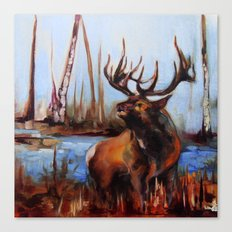Tylers Elk Canvas Print
