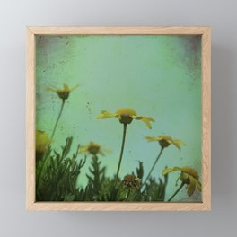 Fragile Flowers Framed Mini Art Print