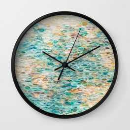 Serenity By The Sea Wall Clock