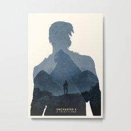 Uncharted 4 Metal Print