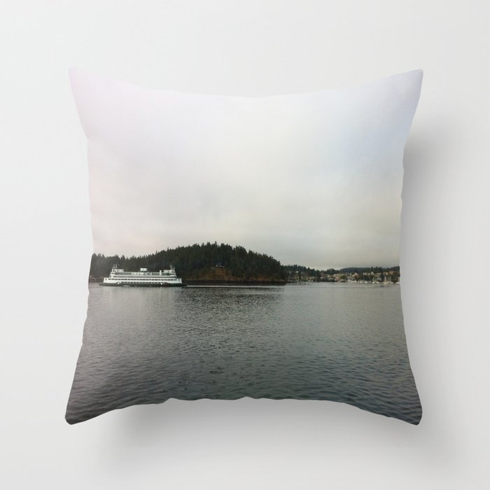Friday Harbor, 2 Throw Pillow