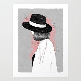 Shadows and stars Art Print