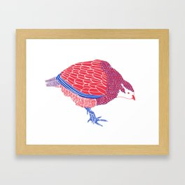 Pretty Partridge Framed Art Print