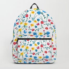 Coloful flowers Backpack
