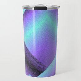 purple and blue mountains Travel Mug