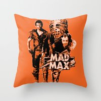mad max Throw Pillows featuring Mad Max by leea1968
