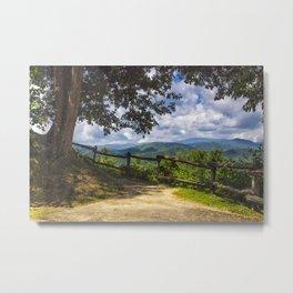 Valley Overlook Metal Print