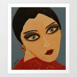Hanna Ruby Art Print