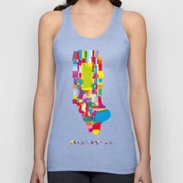 Manhattan Fragments Unisex Tank Top