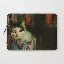 The Writer's Cat Laptop Sleeve