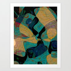 Ares Helmeted Art Print