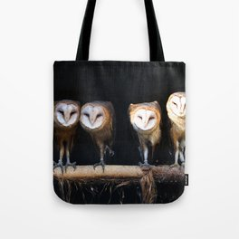 Owls the family Tote Bag