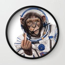 Albert, the Astronaut Wall Clock