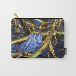 Blue Frogs 10 - Rana arvalis Carry-All Pouch