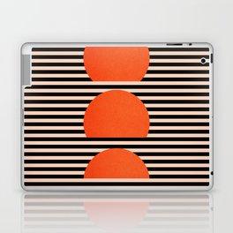 Abstraction_SUNSET_LINE_ART_Minimalism_001 Laptop & iPad Skin