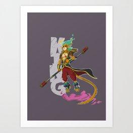 King! Art Print