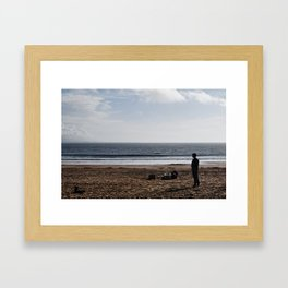 Remains of the Day Framed Art Print