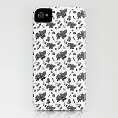 VINTAGE FLORAL Slim Case iPhone (4, 4s)