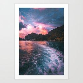 El Nido, Palawan Art Print