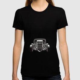 Hotrod with Bergen Custom Car Ami Car Car T-shirt