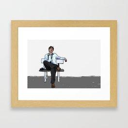 """""""Let's kill Dave."""" Framed Art Print"""