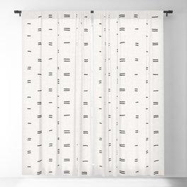 HAMMAH MUDCLOTH Blackout Curtain