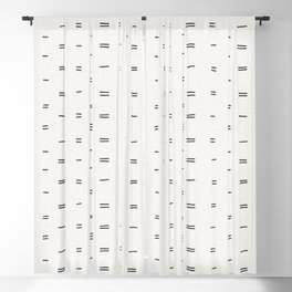 HAMMAH MUDCLOTH Blackout Curtain