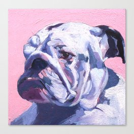 BuLLDOG (Zoe) Canvas Print