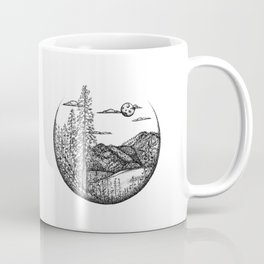 Moscow Mountain and White Pine Coffee Mug