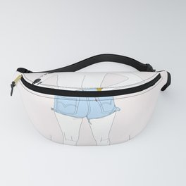 Free The Nipple Fanny Pack