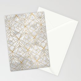 Retro over Stone II Stationery Cards