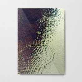 The Skin Of The Water Metal Print
