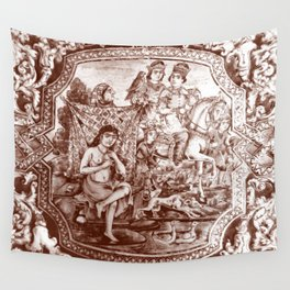 Persian Love Story Wall Tapestry