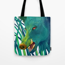 Hog's Head Tote Bag