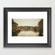 Lake in Ireland Framed Art Print