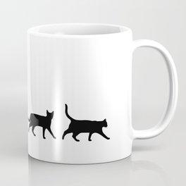 Kitty Conga Line Coffee Mug