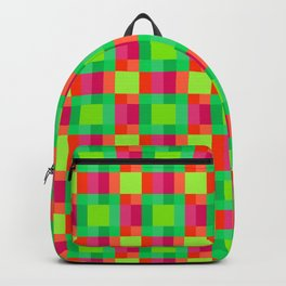 Pattern of Squares Backpack
