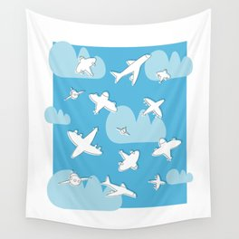 Planes Wall Tapestry