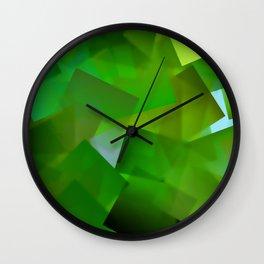 Memory of green paradise ... Wall Clock
